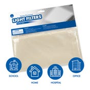 Square Fluorescent Light Filters (Whisper White)