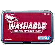 Jumbo Washable Red Stamp Pad