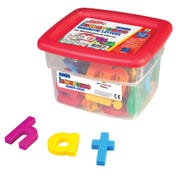 AlphaMagnets® Jumbo Multicolored Lowercase, 42 Pieces