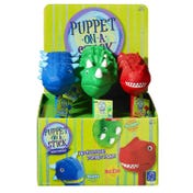 Dinosaur Puppet-On-A-Stick&#8482 - T-Rex, Set of 6