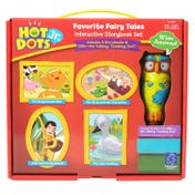 Hot Dots® Jr. Favorite Fairy Tales Interactive Storybook Set with Ollie—The Talking, Teaching Owl™ Pen