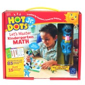 Hot Dots® Jr Let's Master Kindergarten Math Set with Ace—The Talking, Teaching Dog® Pen
