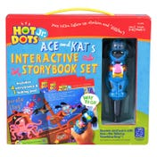 Hot Dots® Jr. Interactive Storybooks - 4 Book Set with Ace—the Talking, Teaching Dog® Pen