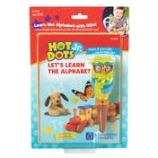 Hot Dots® Jr. Let's Learn the Alphabet Interactive Book with Ollie—The Talking, Teaching Owl™ Pen