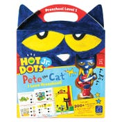 Hot Dots® Jr. Pete the Cat® I Love Preschool! Set with Pete the Cat®—Your Groovin', Schoolin', Friend Pen