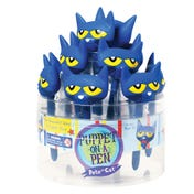 Pete the Cat® Puppet-on-a-Pen™, Counter Display of 12