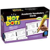Hot Dots® Academic Vocabulary Card Set — Grades 4-6