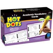 Hot Dots® Academic Vocabulary Card Set — Grades 4-6