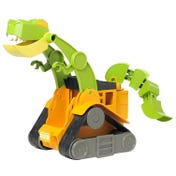 Dino Construction Company™—Wrecker the T-Rex Skid Loader
