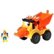 Dino Construction Company™—Rocko the Styracosaurus Dump Truck