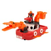 Dino Construction Company™ Rescue Crew—Blaze the Plesiosaurus Fireboat