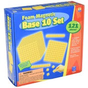 Foam Magnetic Base 10 Set  (121 pieces)