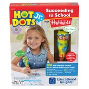 Hot Dots® Jr. Succeeding in School with Highlights™ Set with Ollie—The Talking, Teaching Owl™ Pen