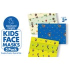 Kids' Face Masks 3-Pack Sneaky, Snacky Squirrel Set