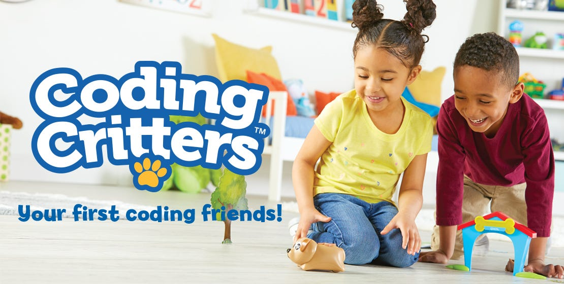 Coding Critters, Your First Coding Friends